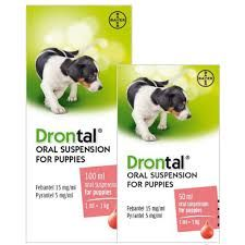 Drontal Puppy - Liquid Worming Suspension - 50ml