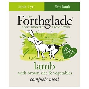 Forthglade - Complete -  Adult - Lamb with Brown Rice & Vegetables