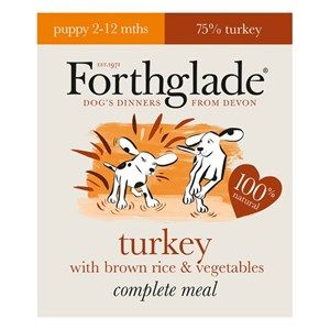 Forthglade -  Complete Turkey  - Puppy Food