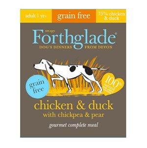 Forthglade  - Gourmet - Grain Free -  Chicken & Duck  - Adult Dog Food