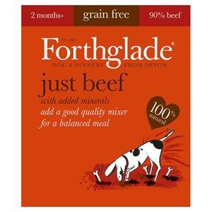 Forthglade - Just Beef - Grain Free - Dog Food
