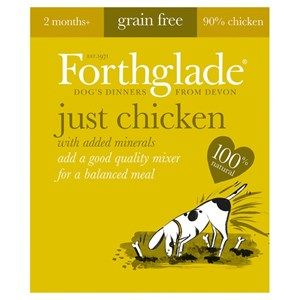 Forthglade - Just Chicken -  Grain Free - Dog Food