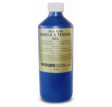 Gold Label - Muscle & Tendon Gel - 500ml