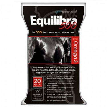 Growell Feeds - Equilibra 500 - Plus Omega 3 - Feed Balancer  - 20kg