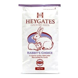 Heygates -  Rabbit - Choice Plain Pellets - 20kg