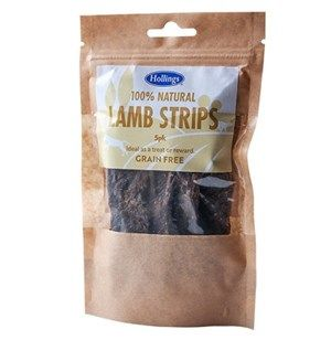 Hollings - 100% Natural -  Lamb Strips - 5 Pack