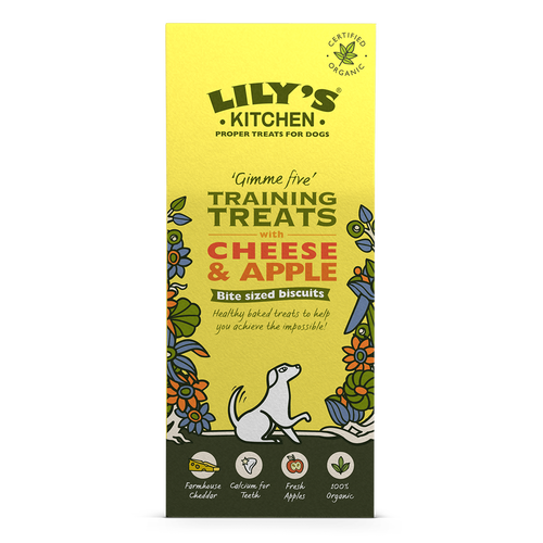Lily's Kitchen - Cheese & Apple - Training Treats - Dog -  100g