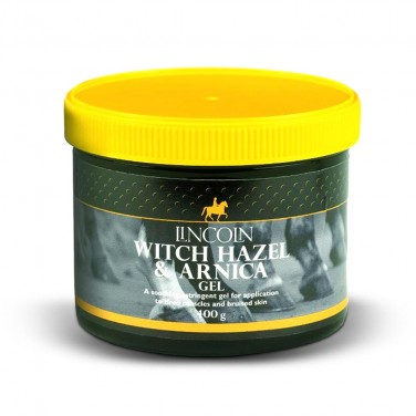 Lincoln - Witch Hazel and Arnica Gel - 400gm
