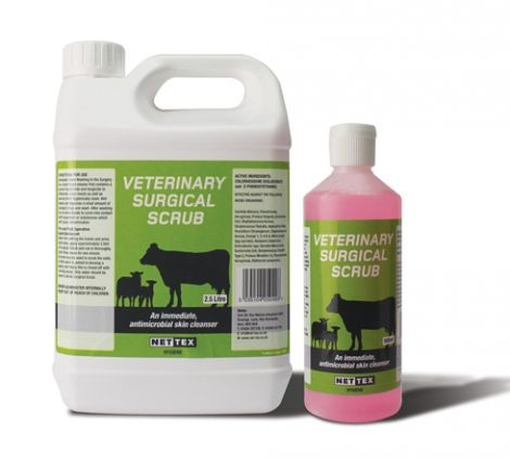 Nettex - Veterinary Surgical Scrub -  500ml