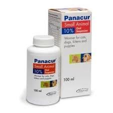 Panacur -  Small animal - Liquid 10% - For Puppies & Kittens