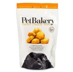 Pet Bakery -  Cheeky Cheese Paws  - Dog Treats - 190g