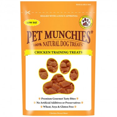 Pet Munchies - Dog Treats Chicken Training Treats 50gm
