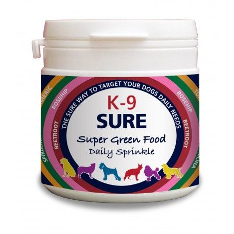 Phytopet -  K9-Sure - Super Green Food - 100gm