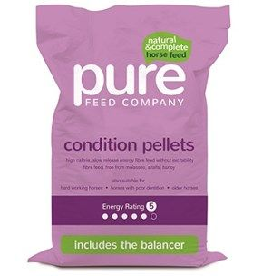 Pure Feed Company  - Pure Condition Pellets - 15kg