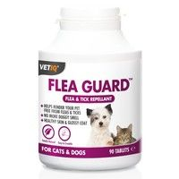 Vet IQ - Flea Guard - Tablets for Cats & Dogs - 90 tablets