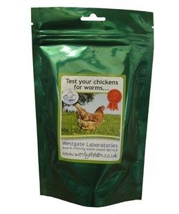 Westgates Labs - Worm Count Kit - Chickens, Ducks, Pigeon (1-20 bird pack)